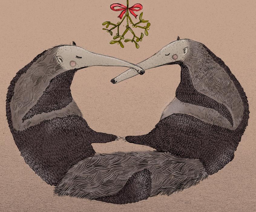 ilustracja świąteczna 2013