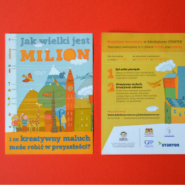 Jak wielki jest milion i co kreatywny maluch może robić w przyszłości?