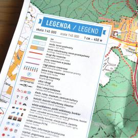 Gdynia – Twoja mapa miasta – ulotka 2014