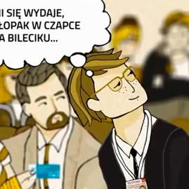 Plakat dla ZTM w Warszawie i KRD – animacja zrobiona przez esy-floresy