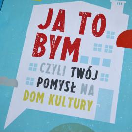 Gdański Archipelag Kultury – Ja to bym…