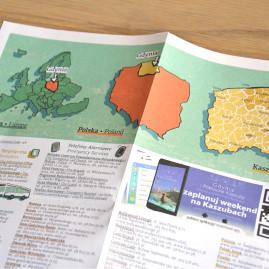 Gdynia – Twoja mapa miasta – ulotka 2015