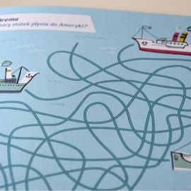 Muzeum Emigracji – broszura dla dzieci
