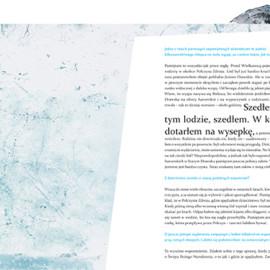 """Ilustracje do książki """"Dotykanie świata Marka Kamińskiego. Wywiad rzeka"""""""